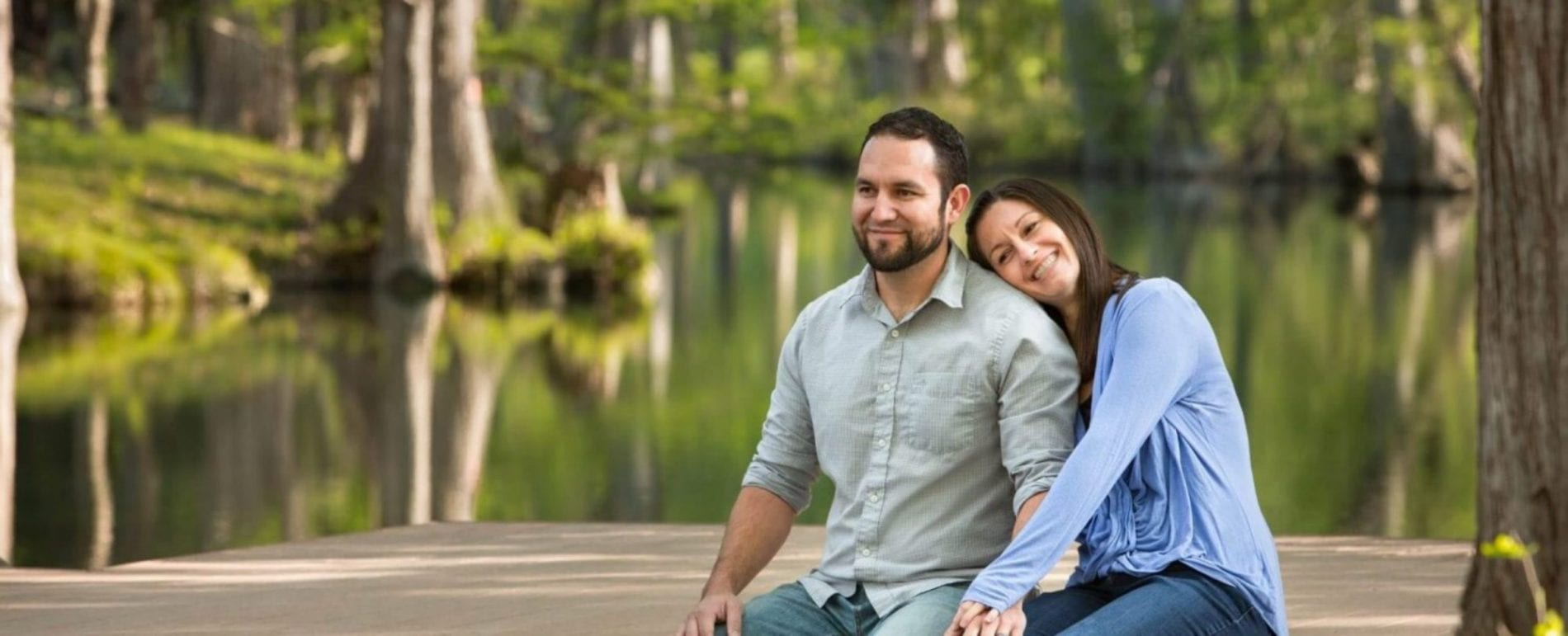 Couple Relaxing On A Dock At Wimberly Lake 1500x609@2x Scaled